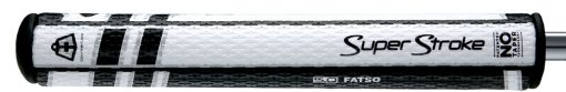 5.0 Fatso Golf Grips Black and White